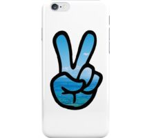 Adventurer Peace Sign iPhone Case/Skin