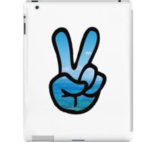 Adventurer Peace Sign iPad Case/Skin