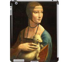 Leonardo Da Vinci - The Lady With An Ermine  iPad Case/Skin