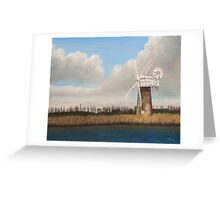 St Benets Level Greeting Card