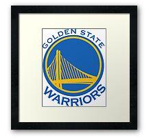 Golden State Warriors Framed Print