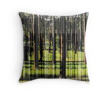 A Stand of Pines Throw Pillow