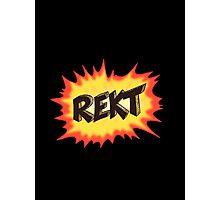 REKT  Photographic Print