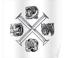 Monster Hunter Cross Poster