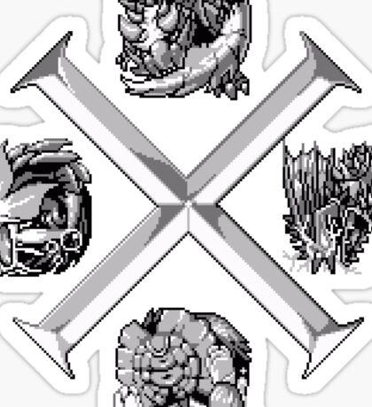 Monster Hunter Cross Sticker