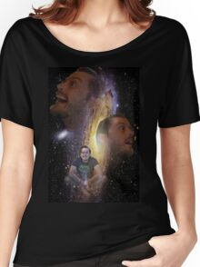 The Space Face Women's Relaxed Fit T-Shirt