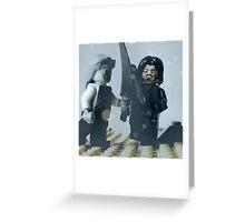 Lego Game of Thrones Jon Snow Greeting Card