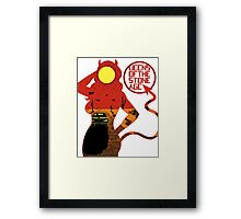 Queens Of The Stone Age Framed Print