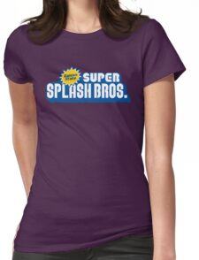 Super Splash Bros. Womens Fitted T-Shirt