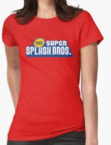 Super Splash Bros. Womens Fitted T-Shirt