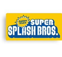 Super Splash Bros. Canvas Print