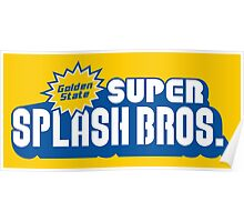 Super Splash Bros. Poster