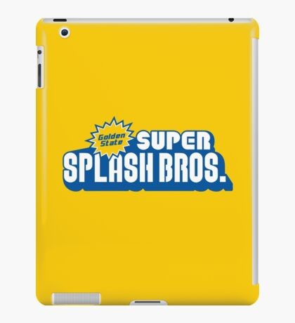 Super Splash Bros. iPad Case/Skin