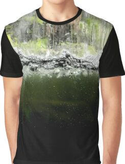 Water Line Graphic T-Shirt