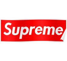 Supreme Logo Poster