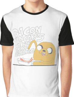 Jake  Bacon Pancakes adventure time Graphic T-Shirt