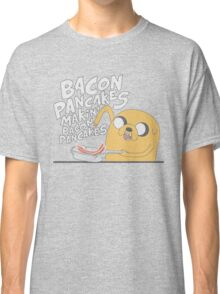 Jake  Bacon Pancakes adventure time Classic T-Shirt