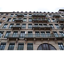French Architecture Photographic Print