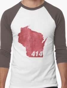In the 414 Men's Baseball ¾ T-Shirt