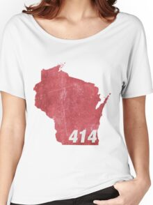 In the 414 Women's Relaxed Fit T-Shirt