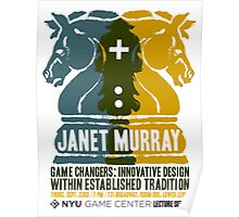 Janet Murray: Innovative Design within Established Tradition Poster