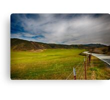 Airline Highway Canvas Print