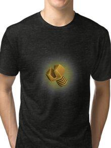 Golden bolt Tri-blend T-Shirt