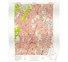 USGS TOPO Map New Jersey NJ Orange 254675 1955 24000 Poster