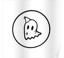 Dancing Ghost Logo Poster