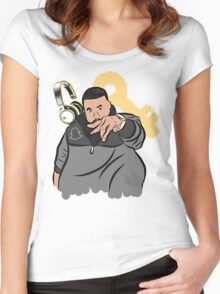 Yow Yow Dj Khaled Women's Fitted Scoop T-Shirt