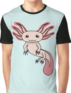 Chibi Axolotl Graphic T-Shirt