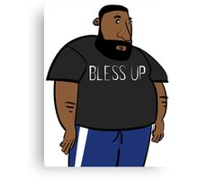 Bless Up Canvas Print