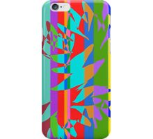 Tropical Burst Abstract iPhone Case/Skin