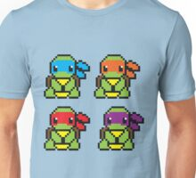 Cute TMNT Pixel Unisex T-Shirt