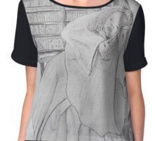 Cradled in His Arms Chiffon Top