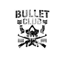 Bullet Club black splat logo Photographic Print