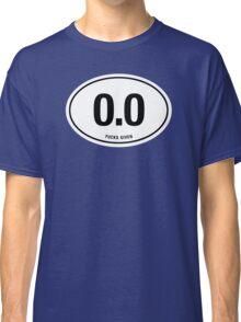 0.0 - NO FUCKS GIVEN Classic T-Shirt