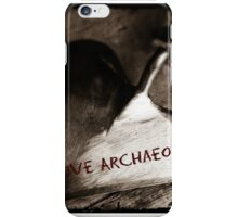I Love Archaeology  iPhone Case/Skin