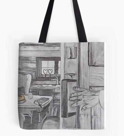 Jesus Knocks Tote Bag