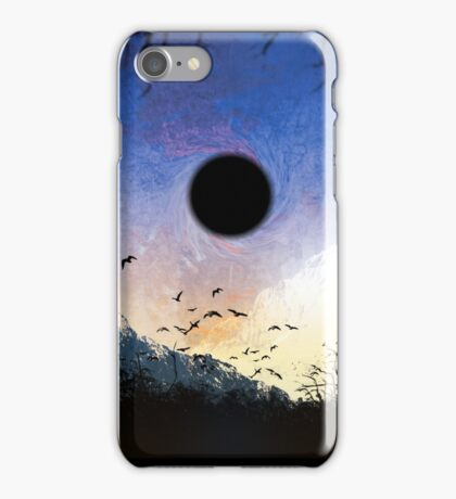 black star iPhone Case/Skin