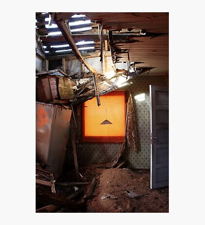 14.4.2016: Collapsed Ceiling Photographic Print