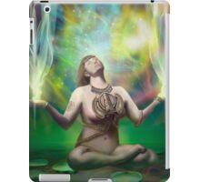 Shakti reaching enlightenment iPad Case/Skin