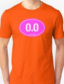 0.0 - NO FUCKS GIVEN - Pink T-Shirt
