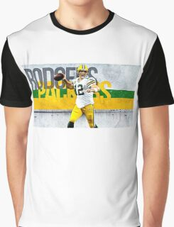 Aaron Rodgers Green Bay Packers Graphic T-Shirt