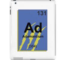 Adamantium Periodic Table - Wolverine iPad Case/Skin