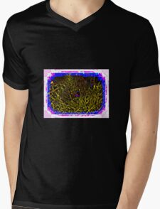 ABSTRACT FALL BUSH Mens V-Neck T-Shirt