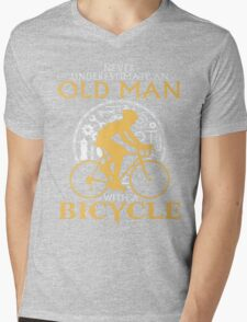 old man with a bicycle T-Shirt