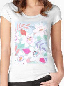 Wild flowers Women's Fitted Scoop T-Shirt