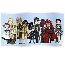 Black Butler Cast Poster