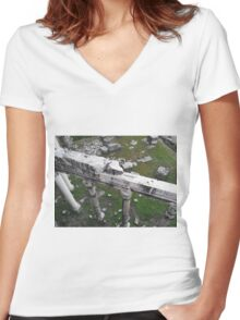 Forum 4 Women's Fitted V-Neck T-Shirt